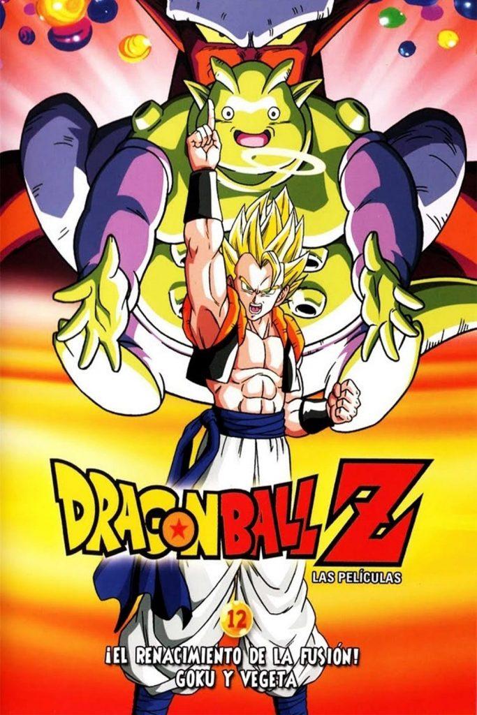 Dragon Ball Z La Fusion de Goku y Vegeta